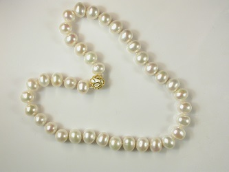 £610 Freshwater cultured pearls